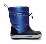 Crocs™ Kids' Crocband Gust Boot Iridescent Tamsiai mėlyna/Mėlyna