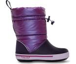 Crocs™ Kids' Crocband Gust Boot Iridescent Purpurinė/Tamsiai violetinė