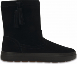 Crocs™ Lodgepoint Suede Pullon Boot Black