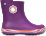 Crocs™ Jaunt Stripes Shorty Boot Amethyst/Royal Purple