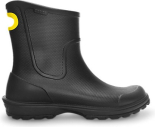 Crocs™ Men's Wellie Rain Boot Melna