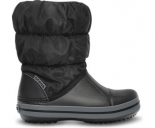 Crocs™ Kids' Winter Puff Boot Juoda/Pilka