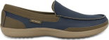 Crocs™ Men's Wrap Colorlite Loafer Navy/Tumbleweed
