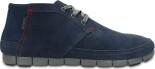 Crocs™ Men's Stretch Sole Desert Boot Navy/Charcoal