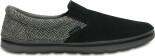 Crocs™ Men's Crocs Norlin Herringbone Slip-On Black/Charcoal