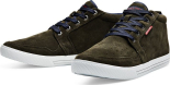Jack Jones Juno Suede Casual High Forest Night