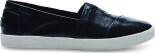 TOMS Patent Linen Women's Avalon Sneaker Black