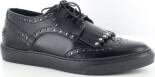 BRONX Low Shoe Leat Black/Silver