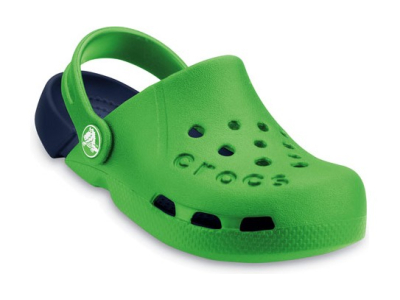 Crocs™ Kids' Electro Zaļa/Tumši zila