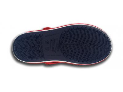 Crocs™ Kids' Crocband Sandal Tumši zila/Sarkana