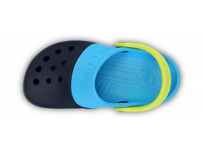 Crocs™ Kids' Electro II Clog Tumši zila/Gaiši zila