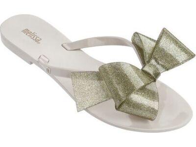 Melissa Harmonic Bow III AD Beige Glitter
