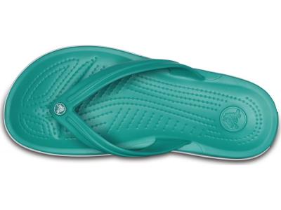 Crocs™ Crocband™ Flip Tropical Teal/White