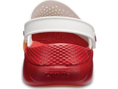 Crocs™ LiteRide Graphic Clog White/Orange