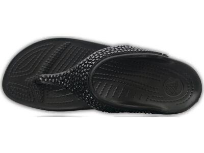 Crocs™ Sloane Embellished Flip Black/Black