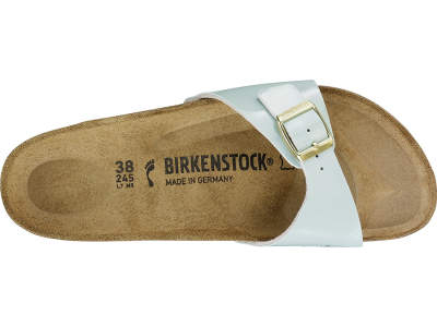 Birkenstock Madrid Patent Two Tone Water Cream