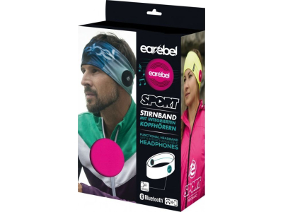 EAREBEL Sport Performance Headband Pink