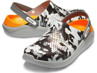 Crocs™ LiteRide Graphic Clog Camo/Light Grey
