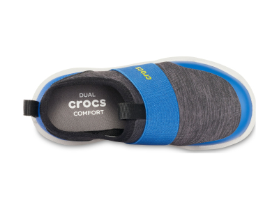 Crocs™ Kids' Swiftwater Easy-On Heathered Shoe Black