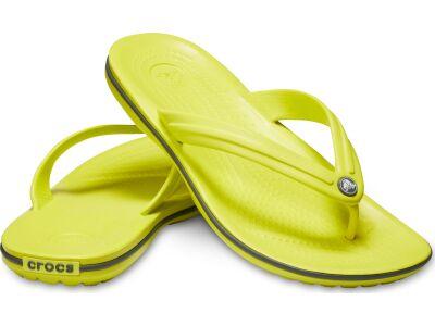 Crocs™ Crocband™ Flip Citrus/Slate Grey