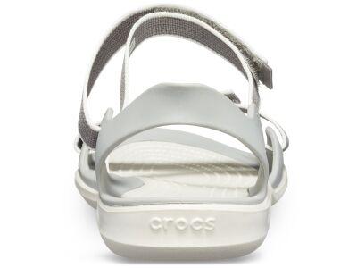 Crocs™ Women's Swiftwater Webbing Sandal Smoke/Oyster