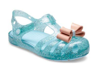 Crocs™ Isabella Bow Sandal Kid's Ice Blue
