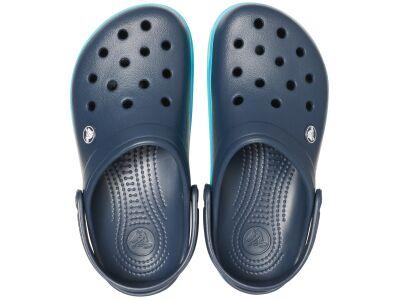 Crocs™ Crocband Wavy Band Clog Navy/Multi