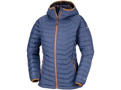 Columbia Powder Lite Hooded Jacket Nocturnal Tweed Print