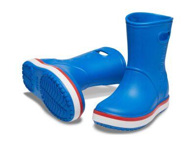 Crocs™ Crocband Rain Boot Kid's Bright Cobalt/Flame