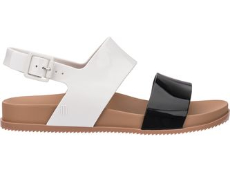 Melissa Cosmic Sandal III Black/White/Brown