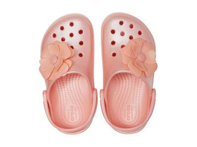 Crocs™ Crocband Vivid Blooms Clog Kid's Melon
