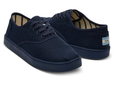 TOMS Heritage Canvas Men's Cordones Cupsole Navy
