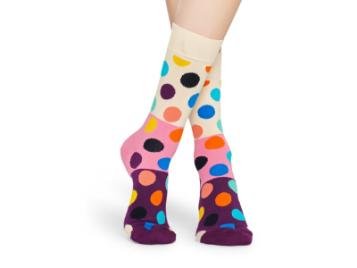 Happy Socks Big Dot Block Multi 0100