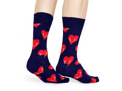 Happy Socks Smiley Heart Multi 6500