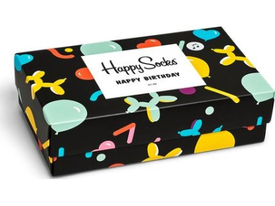 Happy Socks Balloon Animal Birthday Gift Box Multi 7300