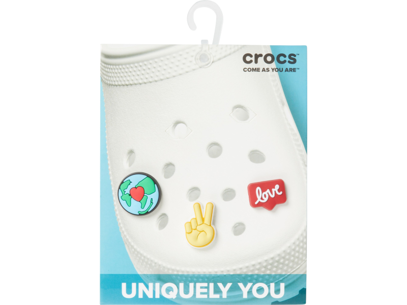 Crocs™ Crocs PEACE AND LOVE 3 PACK G0729400-MU