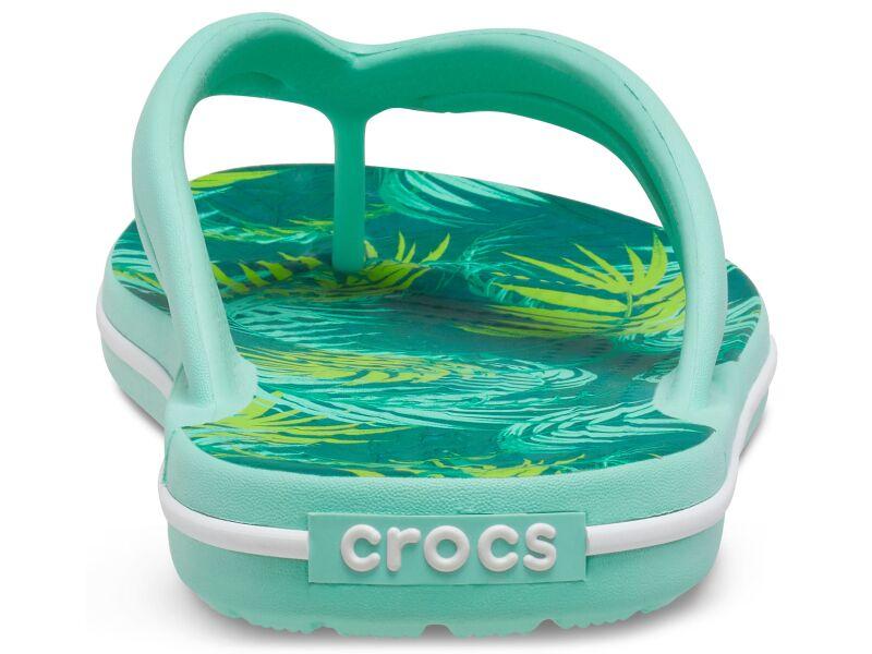 Crocs™ Crocband Tropical Flip Women's White/Multi