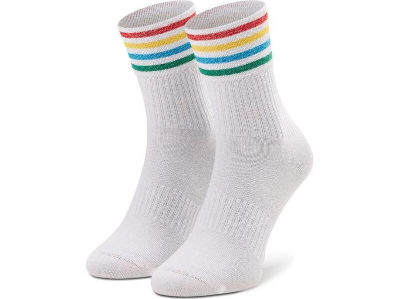Happy Socks Colour Cuff 3/4 Crew Sock Multi 1300