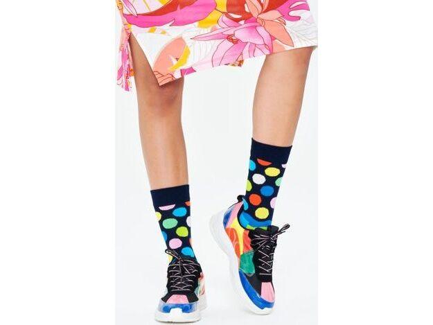 Happy Socks Easter Wave Sock Multi 6500