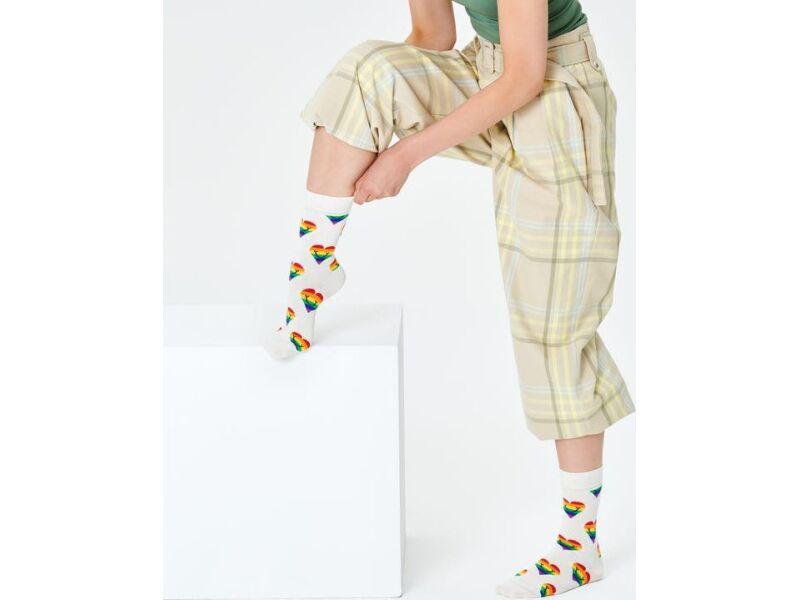 Happy Socks Pride Heart Sock Multi 1300