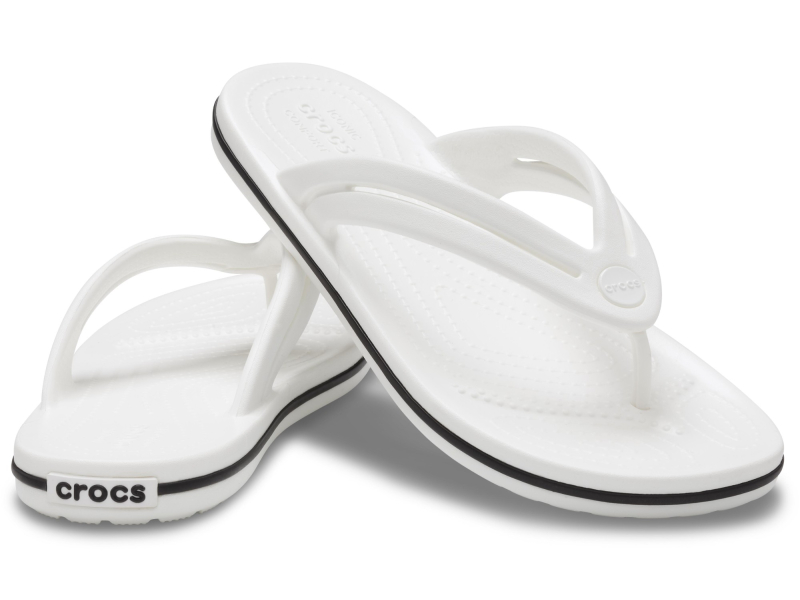 Crocs™ Crocband Flip Womens White