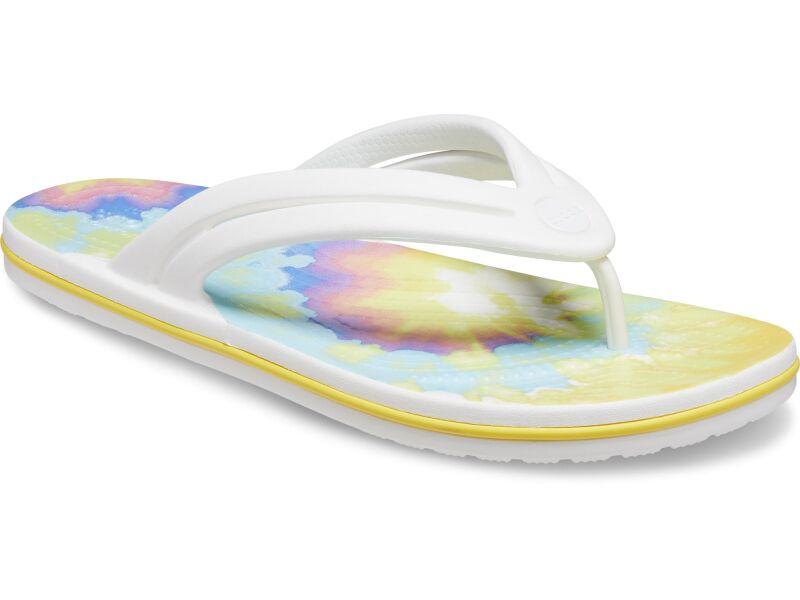 Crocs™ Crocband Tie Dye Flip White/Multi