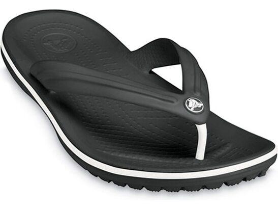 Crocs™ Crocband™ Flip Melna