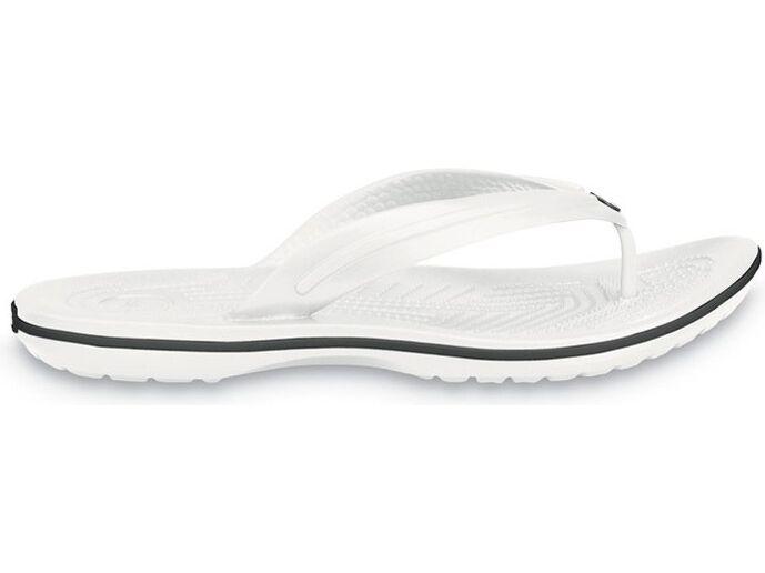 Crocs™ Crocband™ Flip Balta
