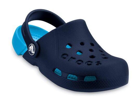 Crocs™ Kids' Electro Tumši zila/Spilgti zila