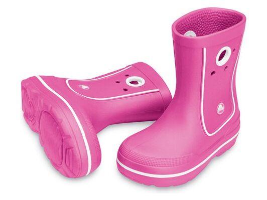 Crocs™ Kids' Crocband™ Jaunt Spilgti rozā