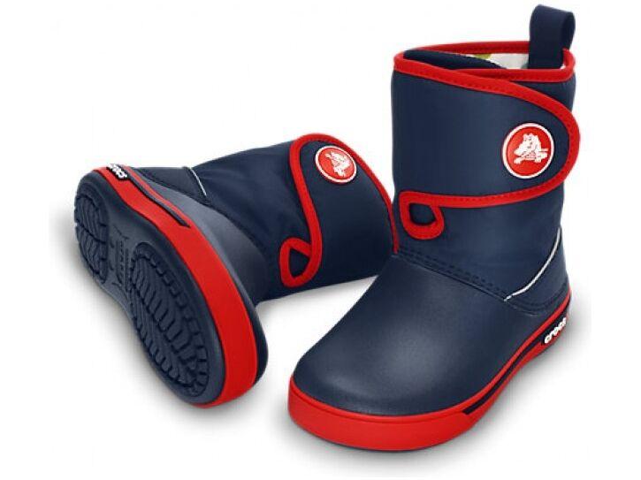 Crocs™ Kids' Crocband II.5 Gust Boot Tumši zila/Sarkana