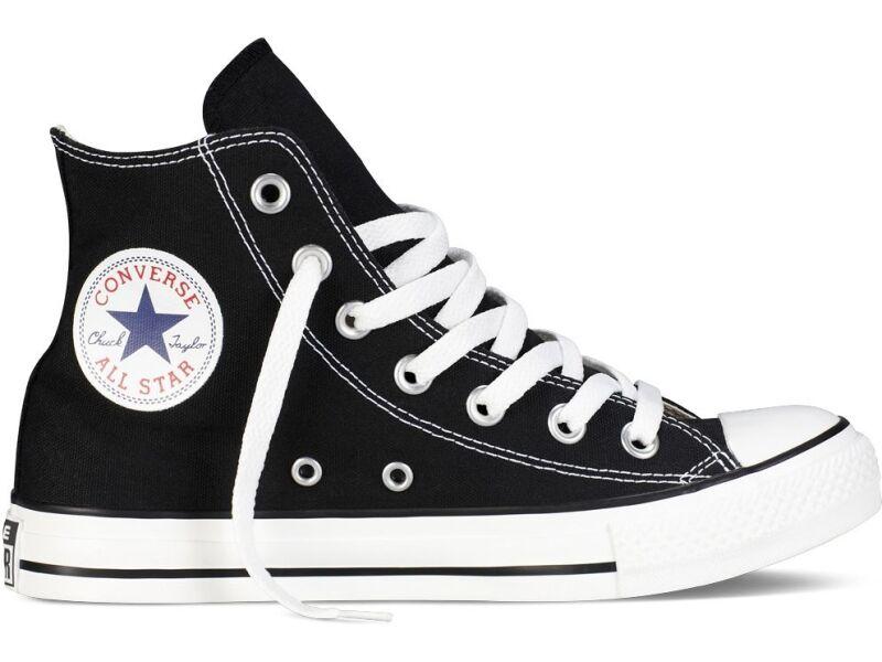 Converse Chuck Taylor All Star Hi Melna/Balta