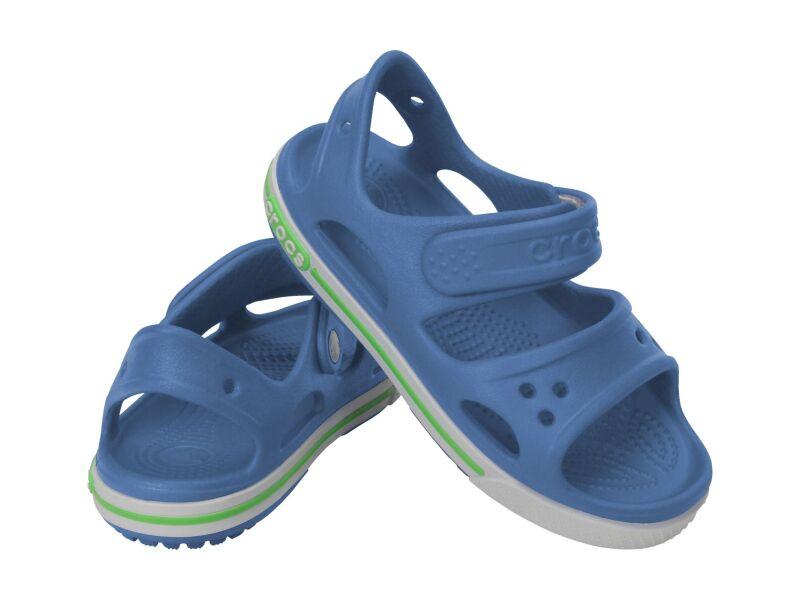Crocs™ Kids' Crocband II Sandal PS Sea Blue/White