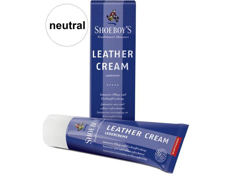 Shoeboy's Leather Creme 75ml Neitrāla